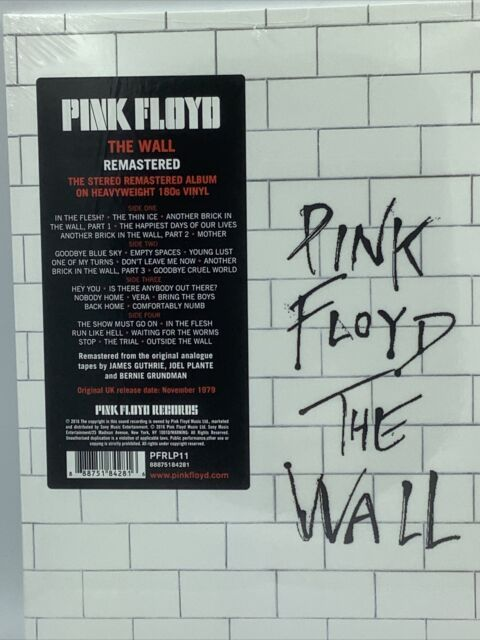 The Wall by Pink Floyd (Vinyl, Aug-2016, 2 Disc-Set, Legacy)