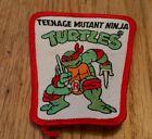 vintage Teenage Mutant Ninja Turtles Raphael sew-on patch Trapezoid TMNT New HTF