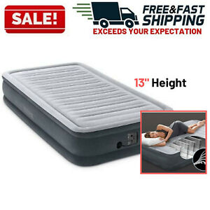 Airbed Inflatable Air Mattress Blow Up Bed Twin Size With Electric Pump Camping