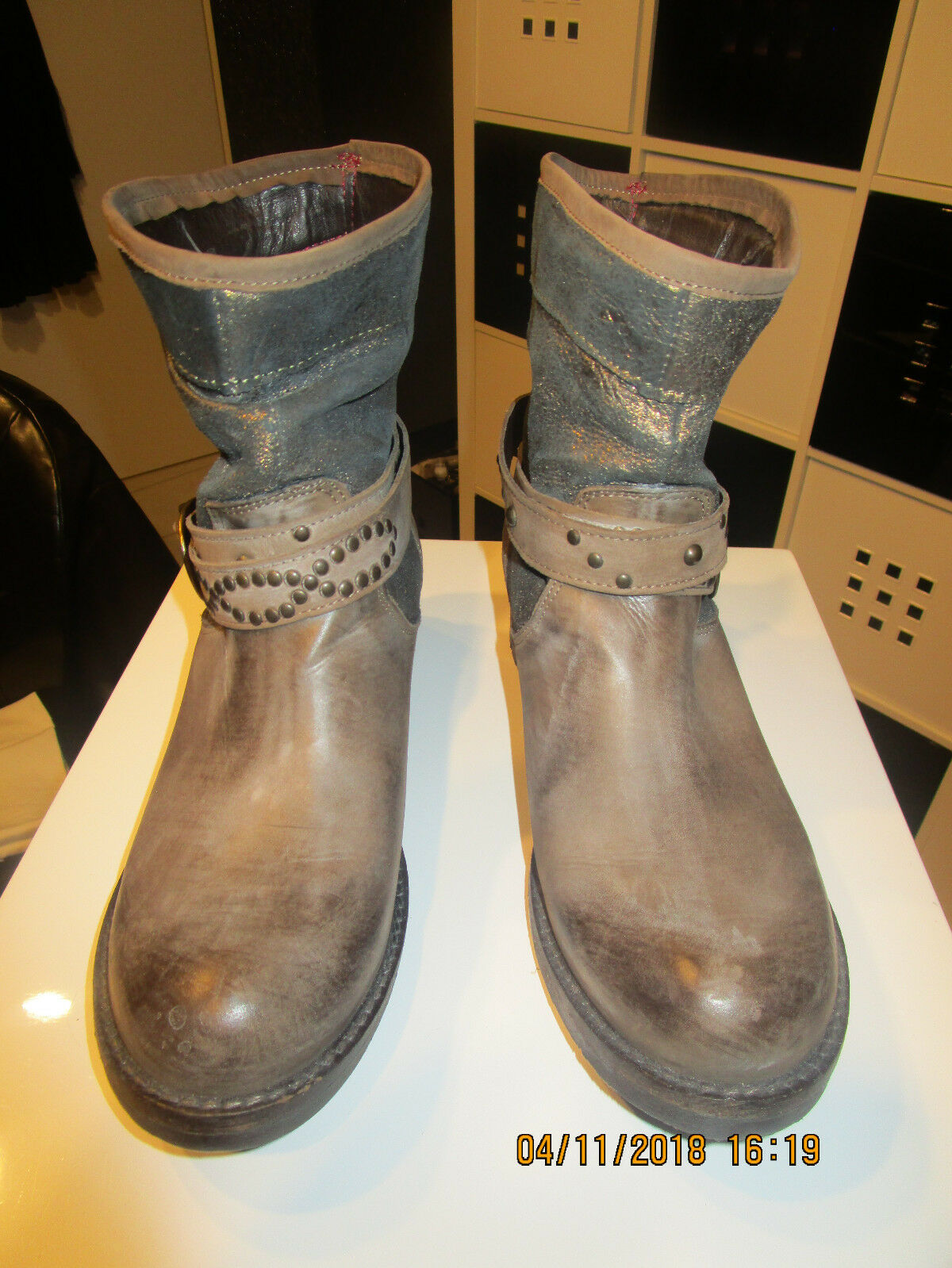 wähle deinen Favoriten Stiefelette Damen Made in Leder