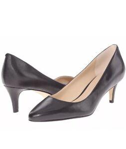 Womens Shoes Cole Haan Lena Mid Pump II Black