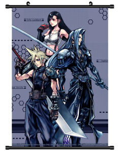 5315-Final-Fantasy-VII-Decor-Poster-Wall-Scroll-cosplay
