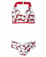 Hello Kitty Halter Bikini Swimsuit Size 10/12 Girls