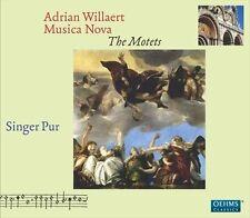 Adrian Willaert: Musica Nova - The Motets (CD, Feb-2013, 3 Discs, Oehms...