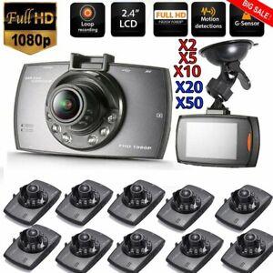 1-50X-HD-2-4-034-LCD-720P-Dash-Cam-Car-DVR-Vehicle-Camera-Video-Recorder-LOT-SH