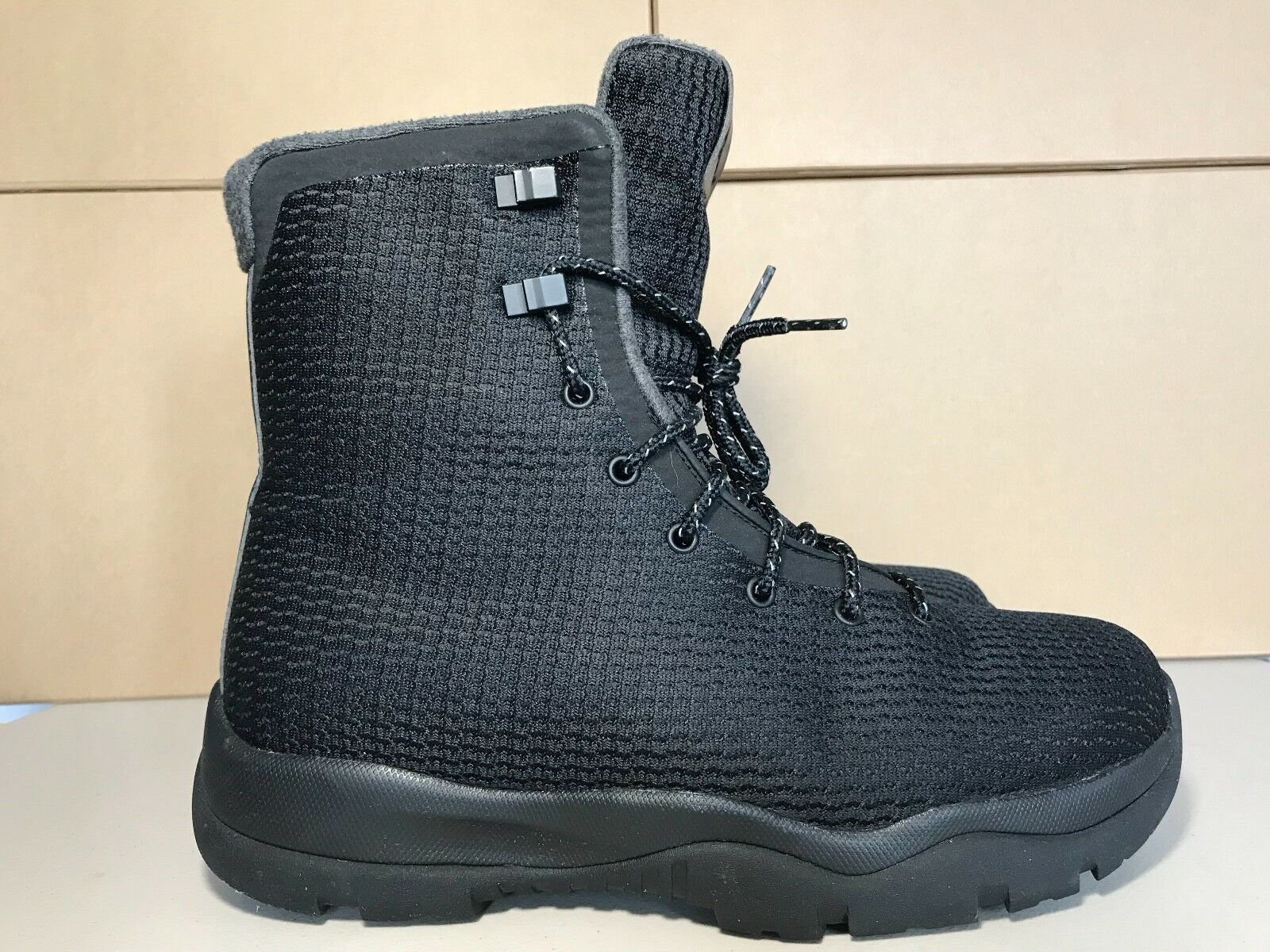 AIR JORDAN FUTURE BOOT HIGH MENS BOOT SHOE Size BLACK GREY Size SHOE 9 854554-002 64c1ad