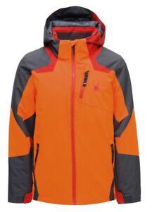 Spyder-Boys-Leader-Jacket-Kinder-Jungen-Skijacke-Winterjacke-Jacke