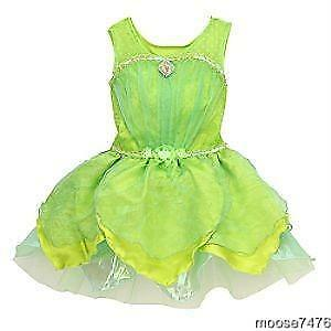 Image is loading DISNEY-Tinkerbell-Tinker-Bell-Costume-large-9-10-  sc 1 st  eBay & DISNEY Tinkerbell Tinker Bell Costume large 9/10 NEW | eBay
