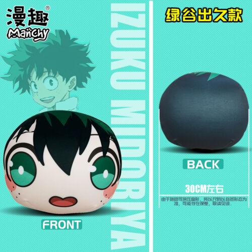 Boku no Hero Academia Q-Style Round Plush Soft Toys Cushion Hold Pillow 30 cm