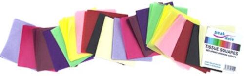 4 pouces 480 feuilles couleurs assort Papier Tissu Carrés 100 mm