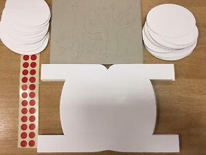 Brian-Clegg-3d-Weihnachten-Karten-X-30-Pack-Klassenzimmer-Schule-Rentier-Kinder