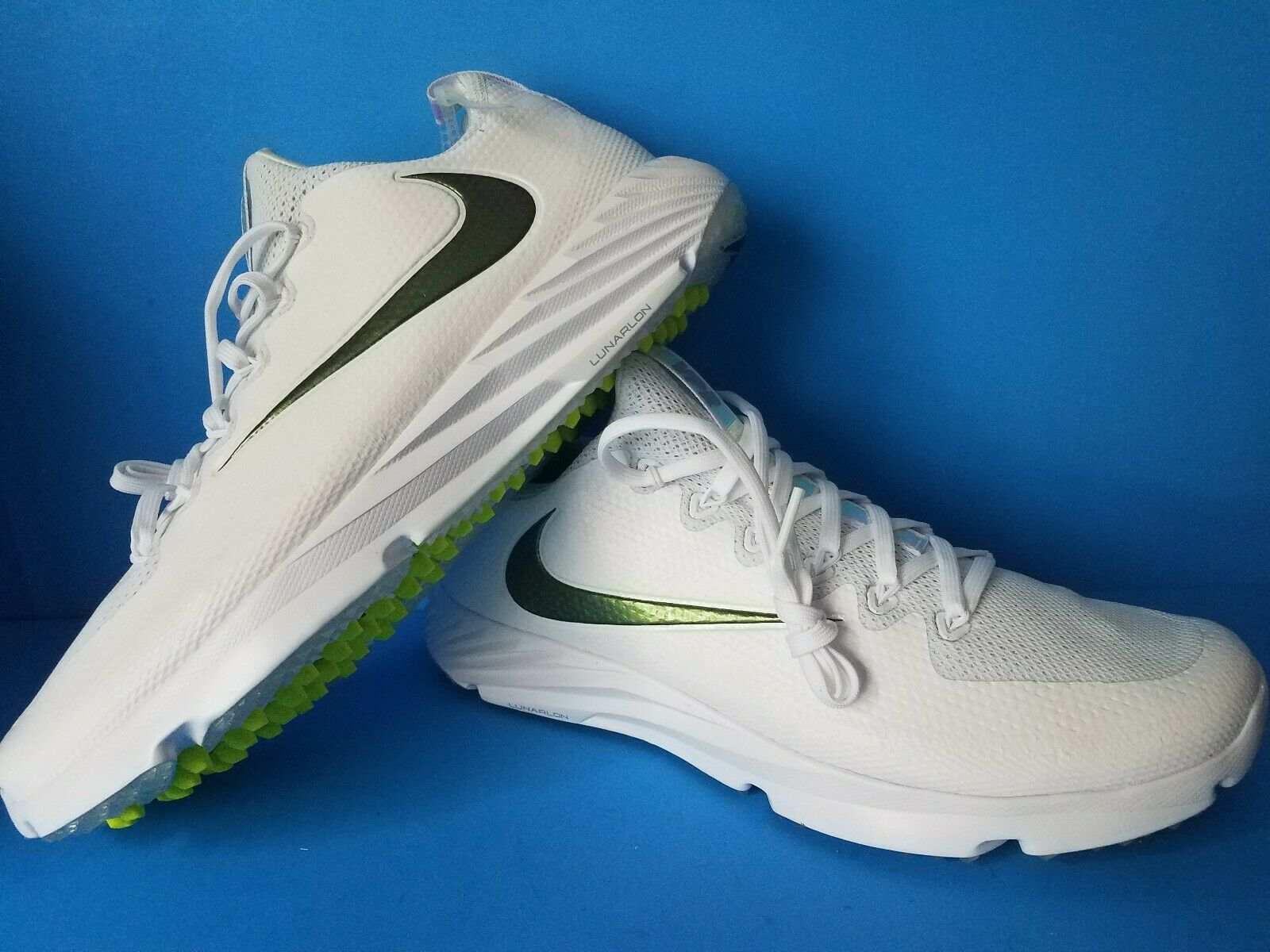 Nike Vapor Speed Turf Trainer Superbowl LII White 833408-112 Size 10 1 2 NICE