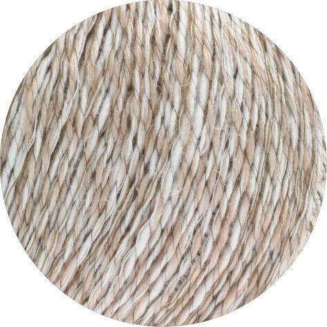Laine Créatif Lana Grossa-Collino-FB 1 Blanc//Beige 50 g