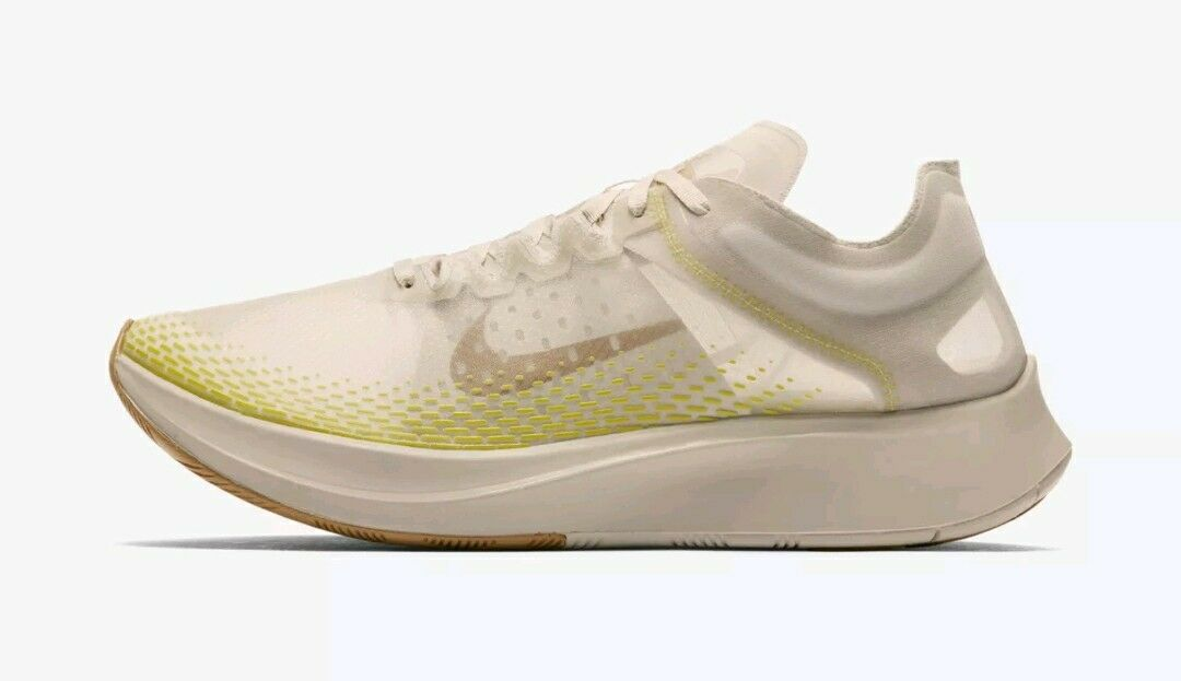 factory price 5db36 642fb Nike Zoom Fly SP SP SP Fast  AT5242-174  Men Running Shoes Light Orewood  Bworn SZ 6 fe46e9