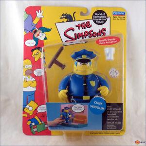 The simpsons police chief wiggum series 2 world of springfield figure playmates 43377991168 ebay - Police simpsons ...