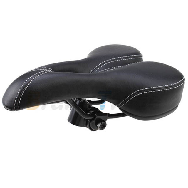 Bike Bicycle Pro Road Saddle MTB Sport Hollow Saddle Seat Black soft Comfort