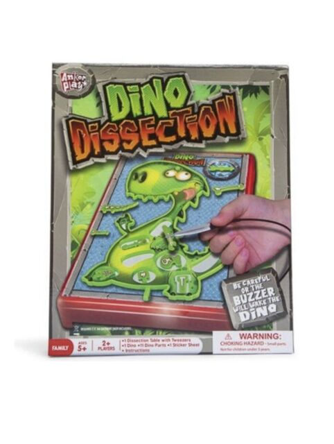 A Jurassic Twist on The Game Operation Anker Play Dino Dissection