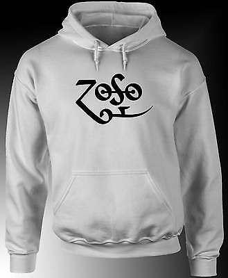 ZOSO - Jimmy Page Led Zeppelin - Hoodie / Hooded Sweatshirt -Choose colour S/5XL