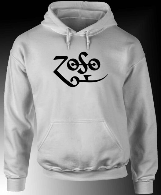 ZOSO - Jimmy Page Led Zeppelin - Hoodie / Hooded Sweatshirt -Choose colour S/5XL