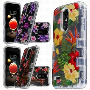 Details about MetroPCS LG Aristo 3 IMPACT TUFF HYBRID Hard Case TPU Candy  Phone Cover