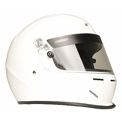 Snell SA2015 Aerodynamic Vented Full Face Auto Racing Helmet