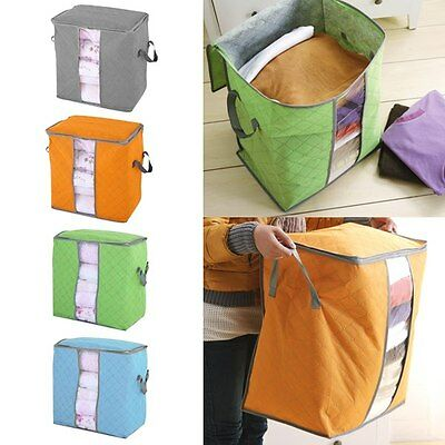 Storage Space Saver Bag Box For WINTER Bed Sheet Blanket Jackets Jumbo Duvet