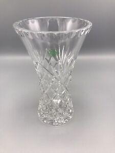 VTG Galway Lead Cut Crystal Ashford Flower Vase~Made in Ireland