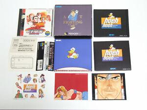 Art Of Fighting 3 Gaiden Limited Box Snk Neo Geo Cd Cdz 4964808500956 Ebay