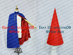 Over The Garden Wall Wirt Cosplay Costume Cloak With Hat Outfit Blue Red Lining Ebay