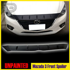 In Stock LA! Mazda 3 Maxx Front Hood Bonnet Fin Spoiler 2016 Embossed Surface