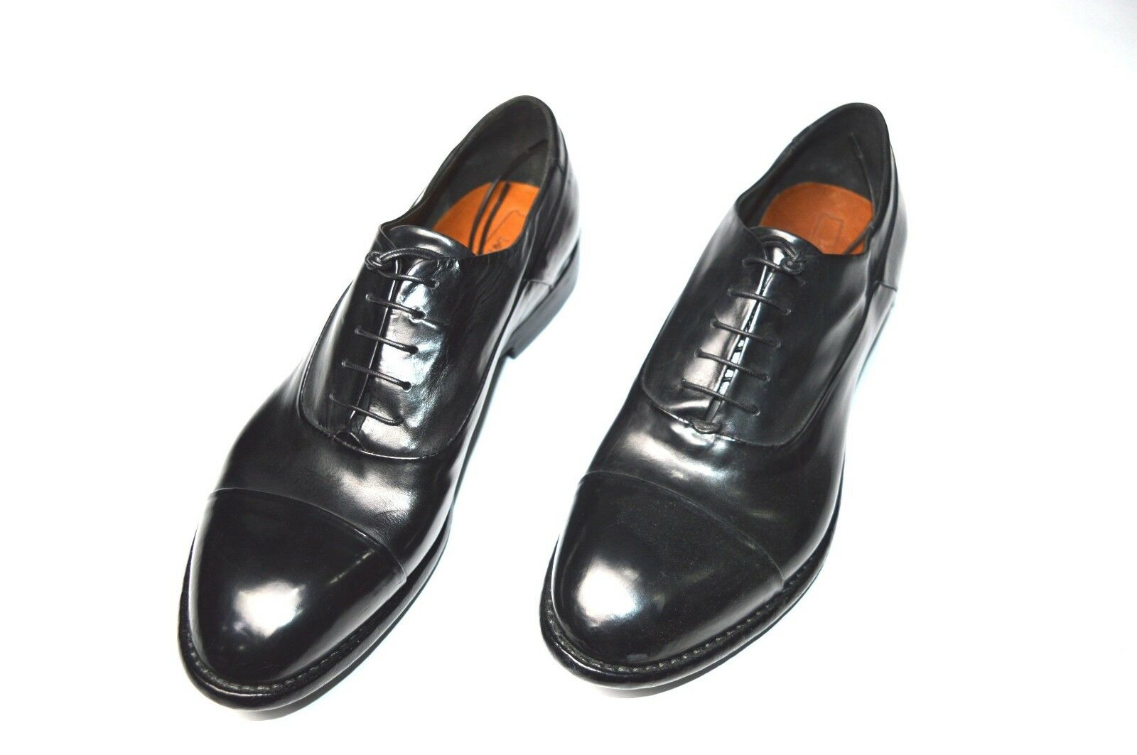 NEW LEMARGO Dress Leather shoes  Size Eu 42 Us 9 (CodLM4)