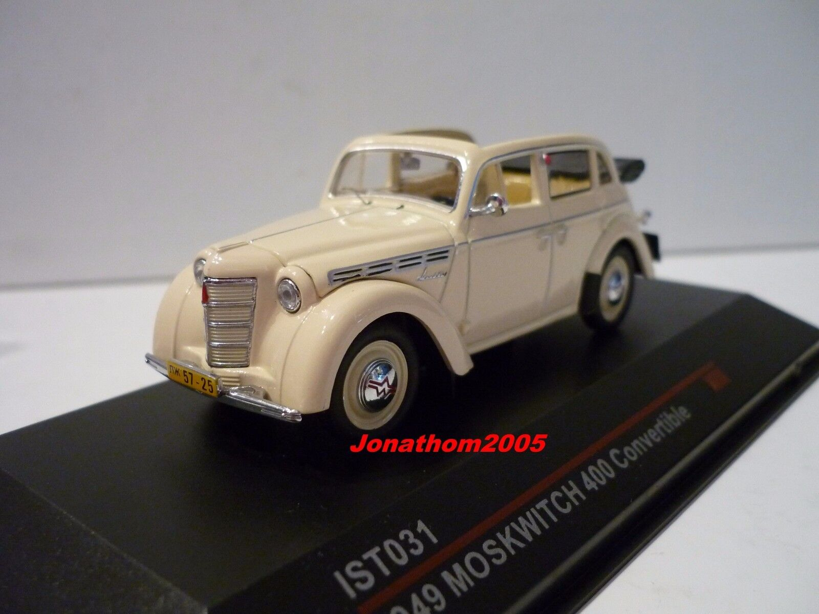 IST MODELS MOSKWITCH 400 CONVERTIBLE 1949  au 1 43°