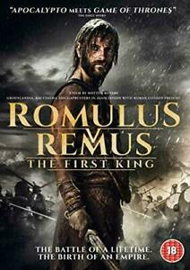 Romulus-Vs-Remus-The-First-King-DVD-Movie-Gift-Idea-NEW-Sealed