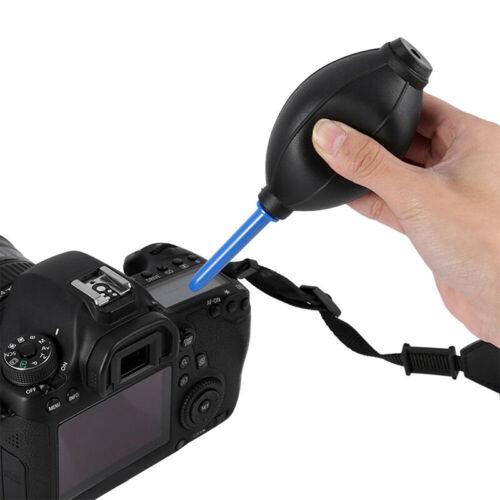 Dr Bombilla De Goma Polvo Soplador de limpieza Limpiador de bomba de aire para Cámara Digital Len Filt