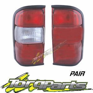 TAILLIGHTS-PAIR-SUIT-GU-PATROL-NISSAN-97-01-SERIES-1-TAILLAMPS-TAIL-LIGHTS-LAMPS