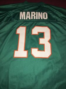 e129df6695e Image is loading Dan-Marino-Miami-Dolphins-1984-NFL-Throwback-Vintage-