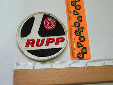 Rupp Snowmobile Patch , Vintage  Rupp Motorcycle Patch , (#1541)