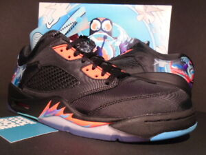 online store 8428c 4e5c5 Details about NIKE AIR JORDAN V 5 RETRO LOW CNY OG CHINESE NEW YEAR BLACK  BLUE 840475-060 9.5