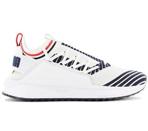 Puma TSUGI Jun Sport Stripes Herren Sneaker 367519 01 Weiß
