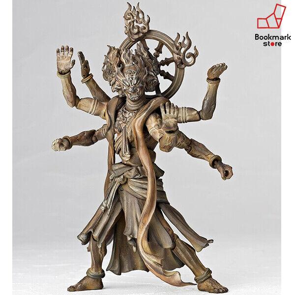 NEW Revoltech TAKEYA Wood Tone No.003EX Figure ASHURA BUDDHIST STATUE COLLECTION