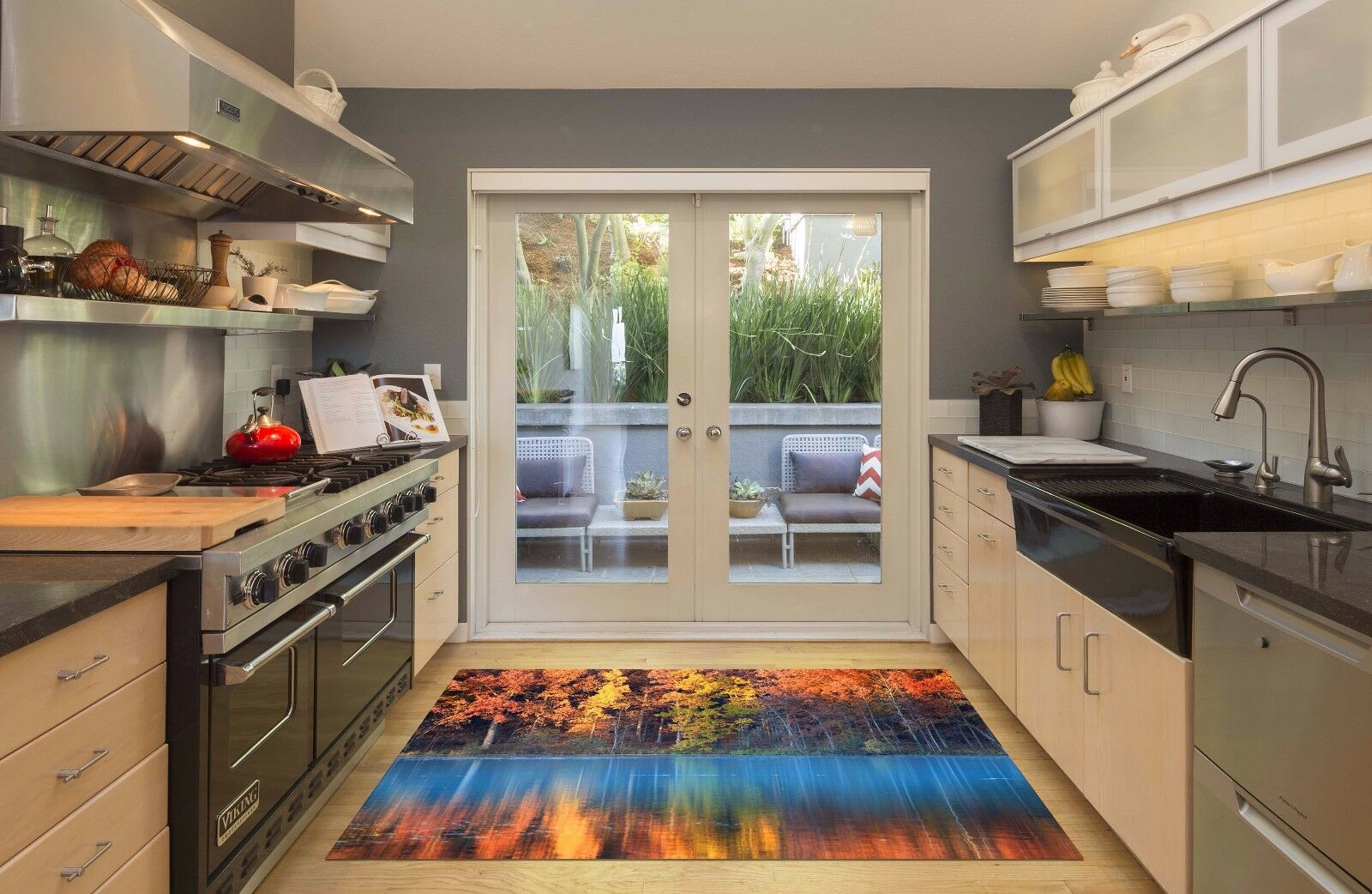 3D Jungle Lake 83 Kitchen Mat Floor Murals Wall Print Wall AJ WALLPAPER AU Carly