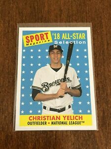 2019-Topps-Archives-Baseball-039-18-All-Star-Christian-Yelich-Milwaukee-Brewers