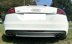 Auspuff Sportauspuff für Audi TT 8J TFSI und Quattro Duplex Endschalldämpfer TTS