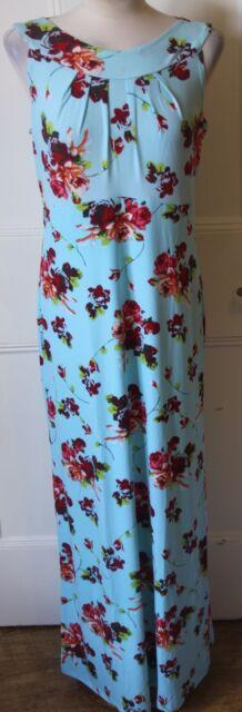 Aqua Multi Kim & Co Printed Brazil Knit Regular Length Maxi Dress - 3XL & BNWT