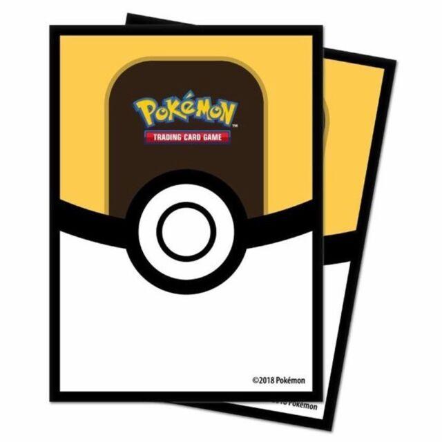 Standard Size 65 Count Ultra Pro Pokemon Poke Ball Deck Protectors Sleeves
