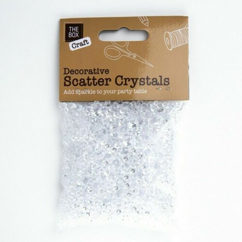 WEDDING DECORATION Scatter Table Crystals DIAMONDS ACRYLIC CONFETTI
