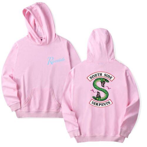 UK Riverdale Southside Serpent Unisex Funny Hoodie Programme Jumpers sweatshirt