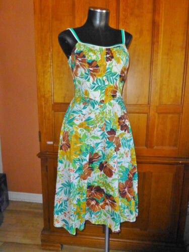 Vtg 70s De Weese Swim Beach Wear HAWAIIAN Beach Pa