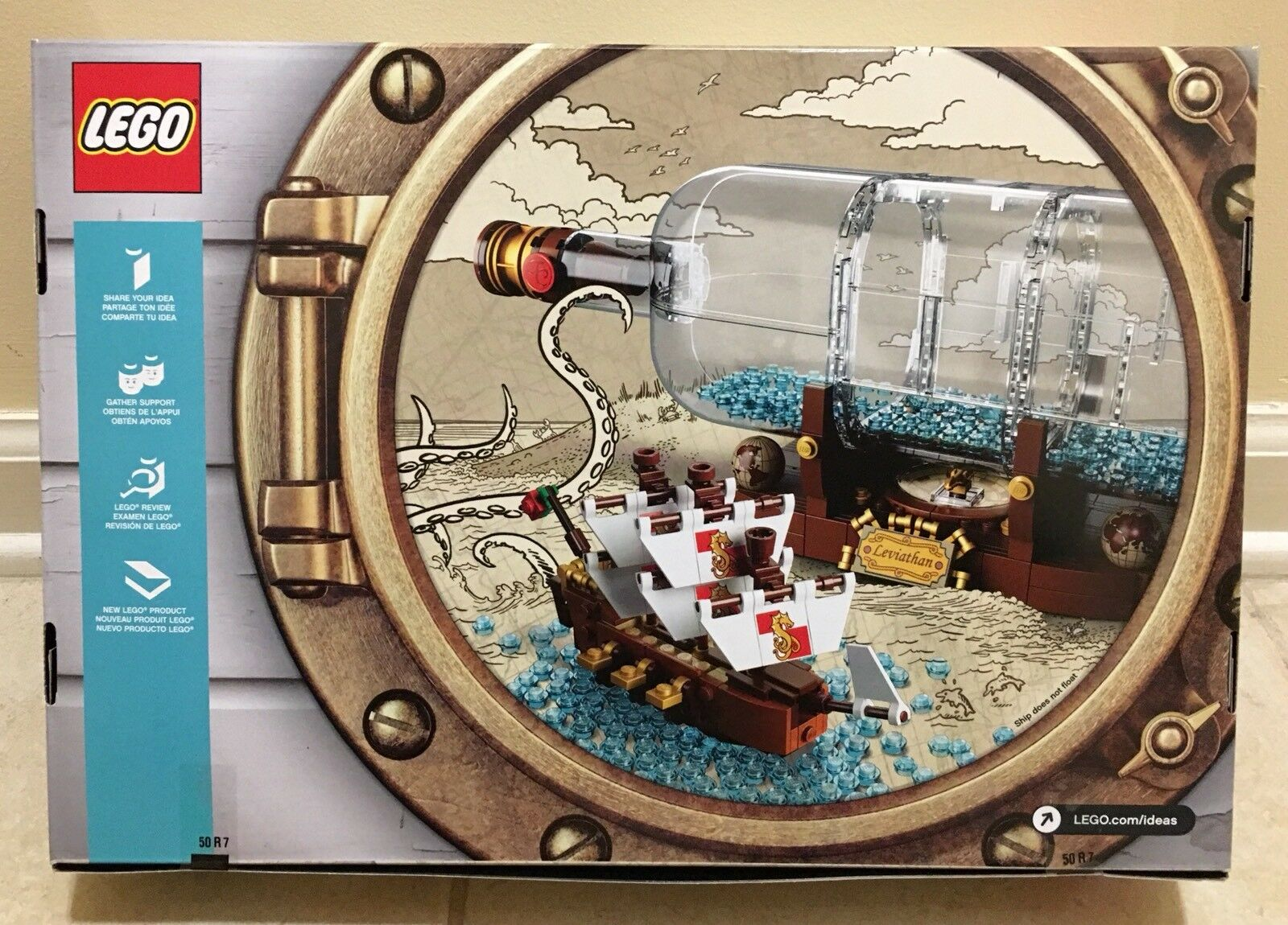 NEW LEGO 21313 IDEAS SHIP IN IN IN A BOTTLE SEALED IN HAND READY TO SHIP 100%AUTHENTIC bec74c