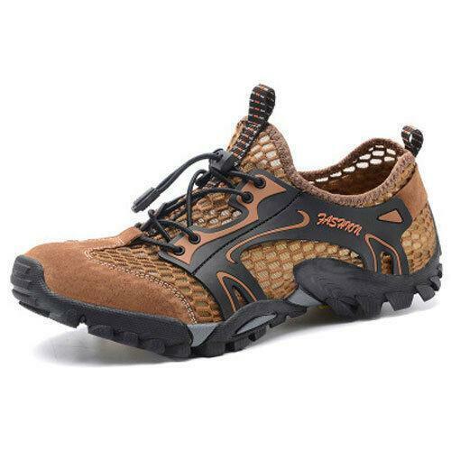 Men/'s Water Sports Chaussures De Randonnée Outdoor snekaers Mesh Wading respirant chaussures